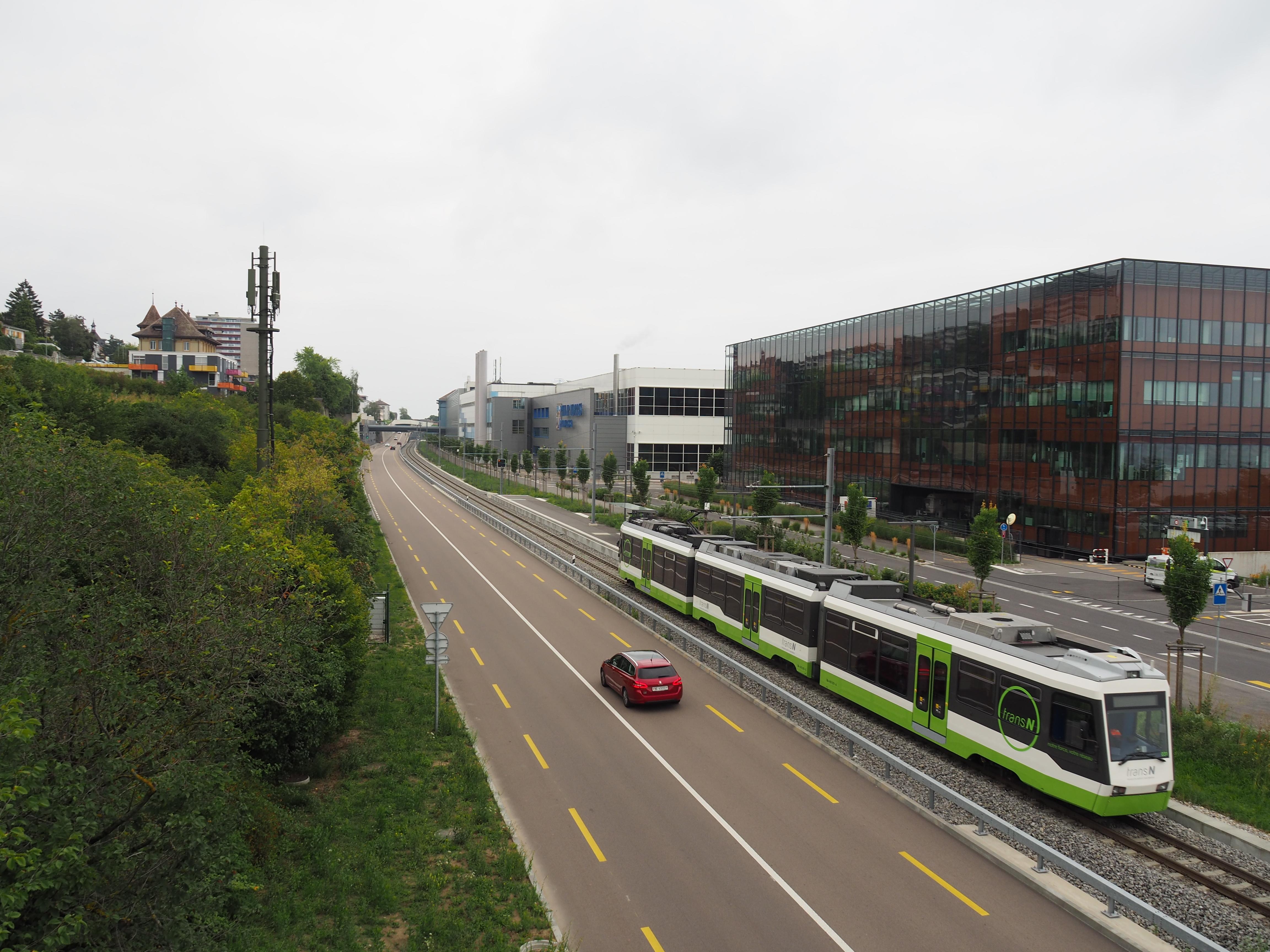 Contrôle de la marche des trains sur la ligne 215